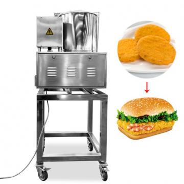 Automatic Hamburger Forming Bread Dough Processing Machine China Manufacturer