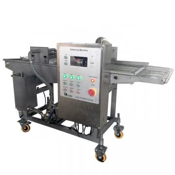 Commercial Elctric Hamburger Nuggets Fish and Chicken Drum Breader Machine
