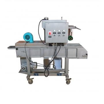 Automatic Hamburger Chicken Nuggets Breading Machine Sxj600-VI