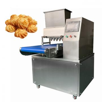 Stainless Steel Automatic Biscuit Production Line Cookie Biscuit Making Machine