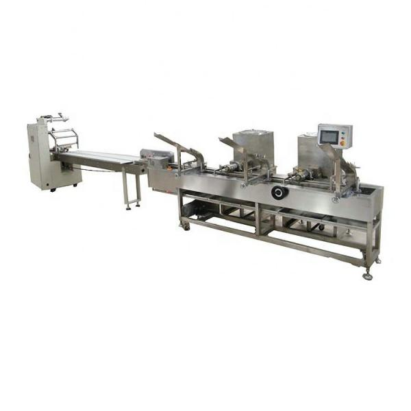 Automatic 3ply Surgical Medical Disposable N95 Face Mask Biscuits Food Cosmetics Cake Cookies Making Packaging Packing Package Production Line Machine Machinery #1 image