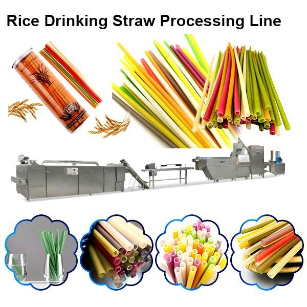 Big Capacity Edible Starw Making Machines/ Eco-Friendly Drink Starw Machine #1 image