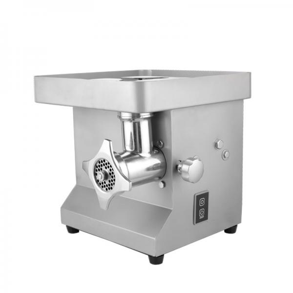 Commercial Grade Table Electric Heavy Duty Desktop Style Meat Grinder with Stainless Steel Material #1 image