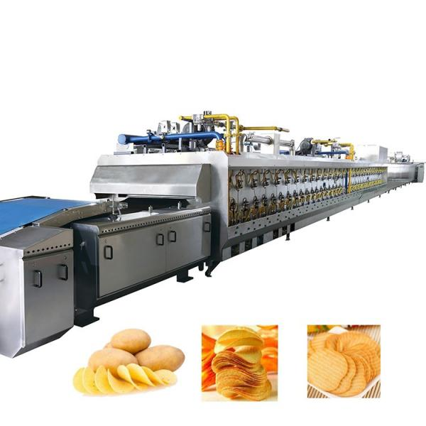 Fully Automatic potato chips production line french fries cutter machine potato cutting #1 image