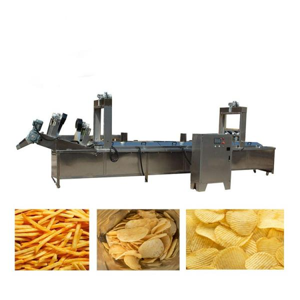 Fully Automatic potato chips production line french fries cutter machine potato cutting #2 image
